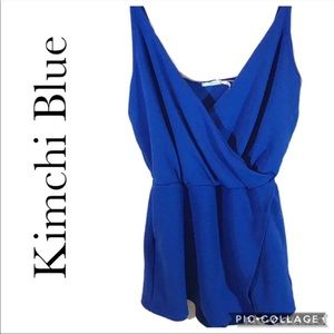 Kimchi Blue royal blue romper [Urban Outfitters] S